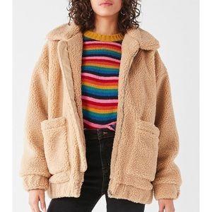 I.AM.GIA the label pixie teddy jacket XS NWT